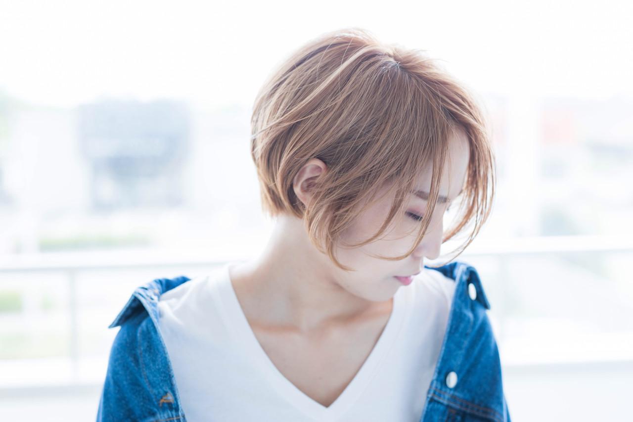 ショートヘア ハンサムショート ショート ナチュラル ヘアスタイルや髪型の写真・画像 | 小野 和摩 / Chill-hus