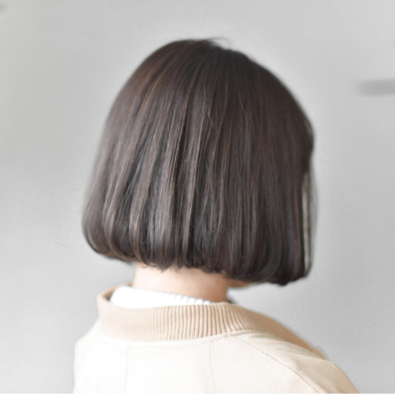 ナチュラル グレージュ ミルクティー 色気 ヘアスタイルや髪型の写真・画像
