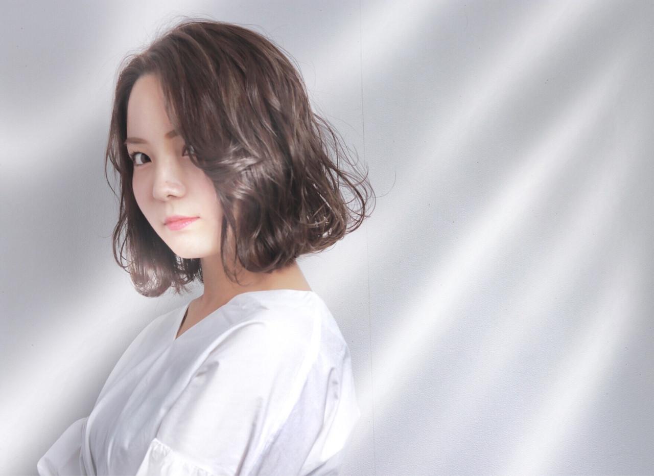 女子力 アッシュ ゆるふわ 外国人風カラー ヘアスタイルや髪型の写真・画像