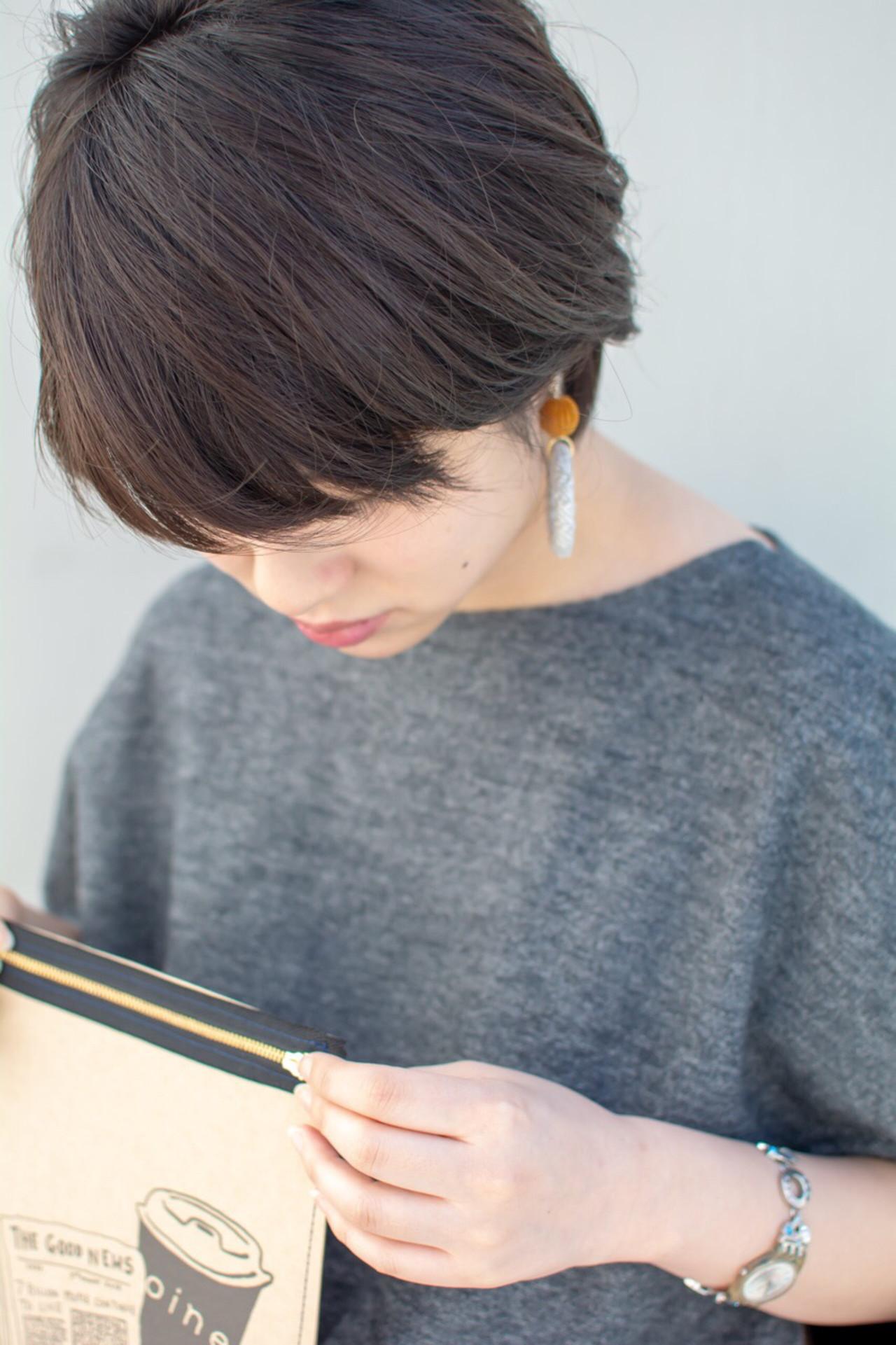 透明感 大人かわいい ナチュラル オフィス ヘアスタイルや髪型の写真・画像 | 【noine】斉藤 正敏 / noine