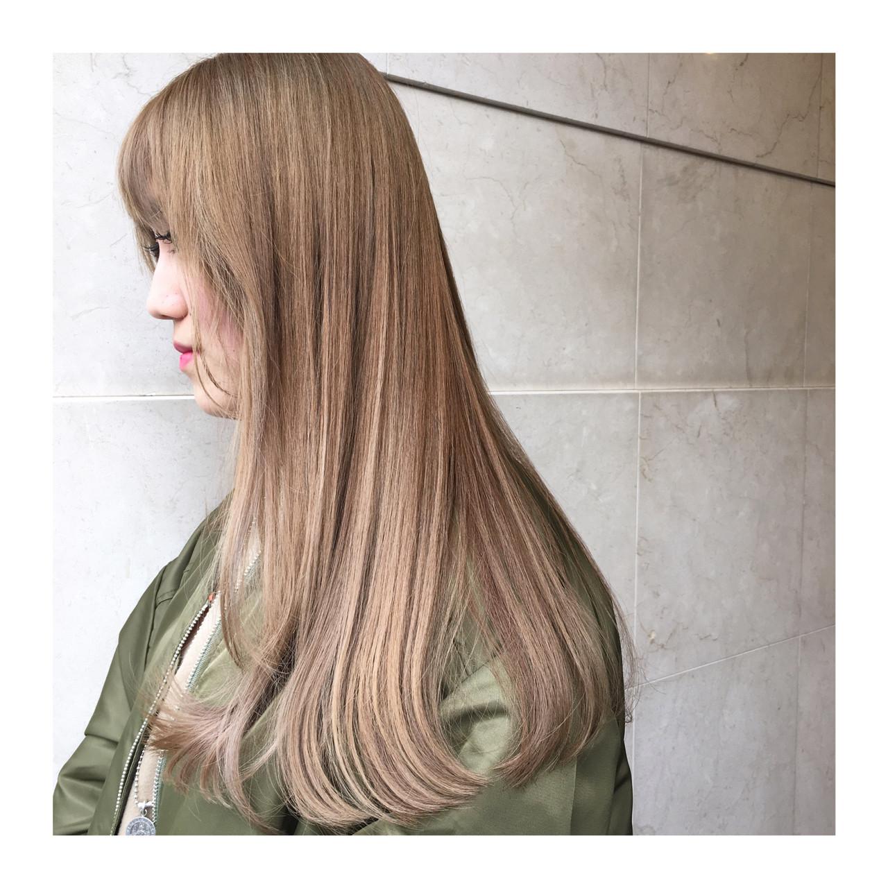 グラデーションカラー ハイライト 外国人風 ストリート ヘアスタイルや髪型の写真・画像