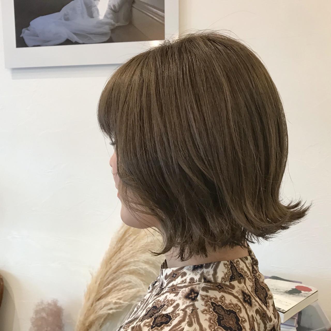 外国人風カラー ミニボブ ボブ 切りっぱなしボブ ヘアスタイルや髪型の写真・画像