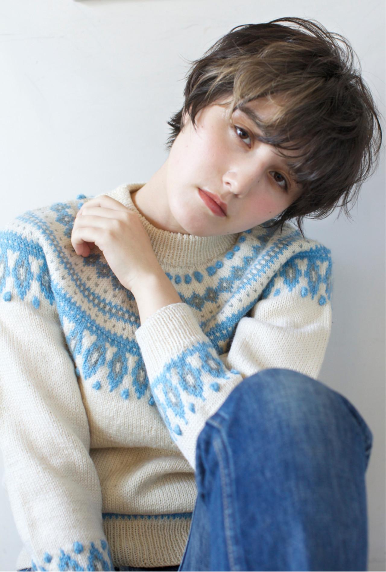 外国人風カラー 冬 ストリート 大人かわいい ヘアスタイルや髪型の写真・画像