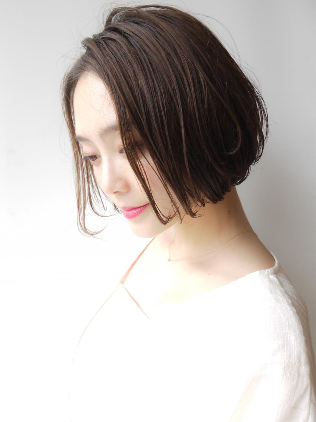 ショート モテ髪 ゆるふわ 大人かわいい ヘアスタイルや髪型の写真・画像