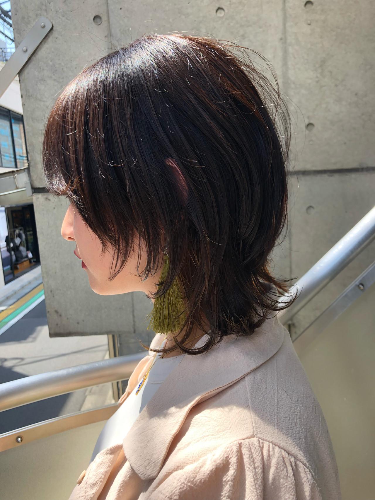 ナチュラルウルフ ウルフカット ショート ニュアンスウルフ ヘアスタイルや髪型の写真・画像