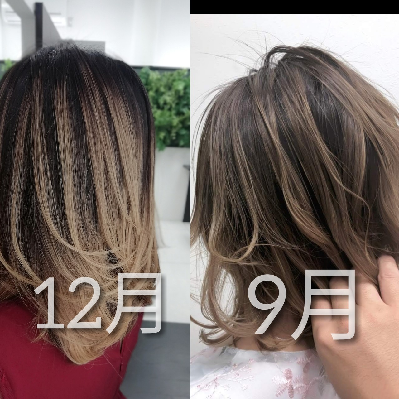 インナーカラー ナチュラル バックコーミング 外国人風カラー ヘアスタイルや髪型の写真・画像
