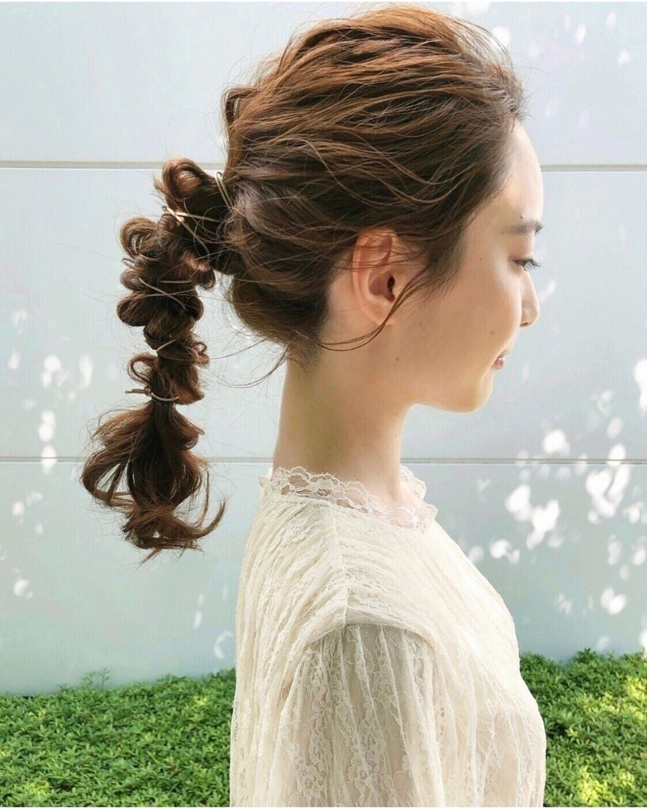 ヘアアレンジ 簡単ヘアアレンジ 大人かわいい 結婚式ヘアアレンジ ヘアスタイルや髪型の写真・画像 | tomoya tamada / Bridal hairmake