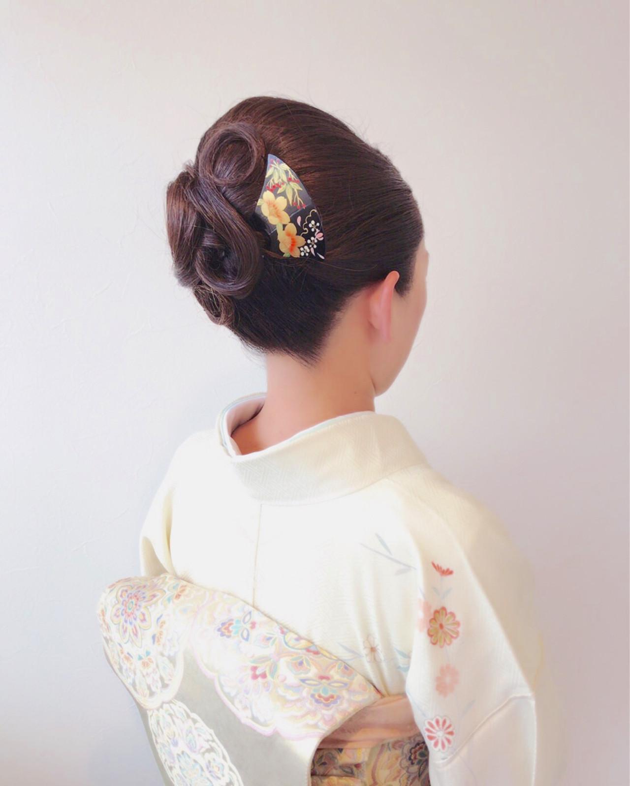 ロング エレガント アップスタイル ヘアアレンジ ヘアスタイルや髪型の写真・画像