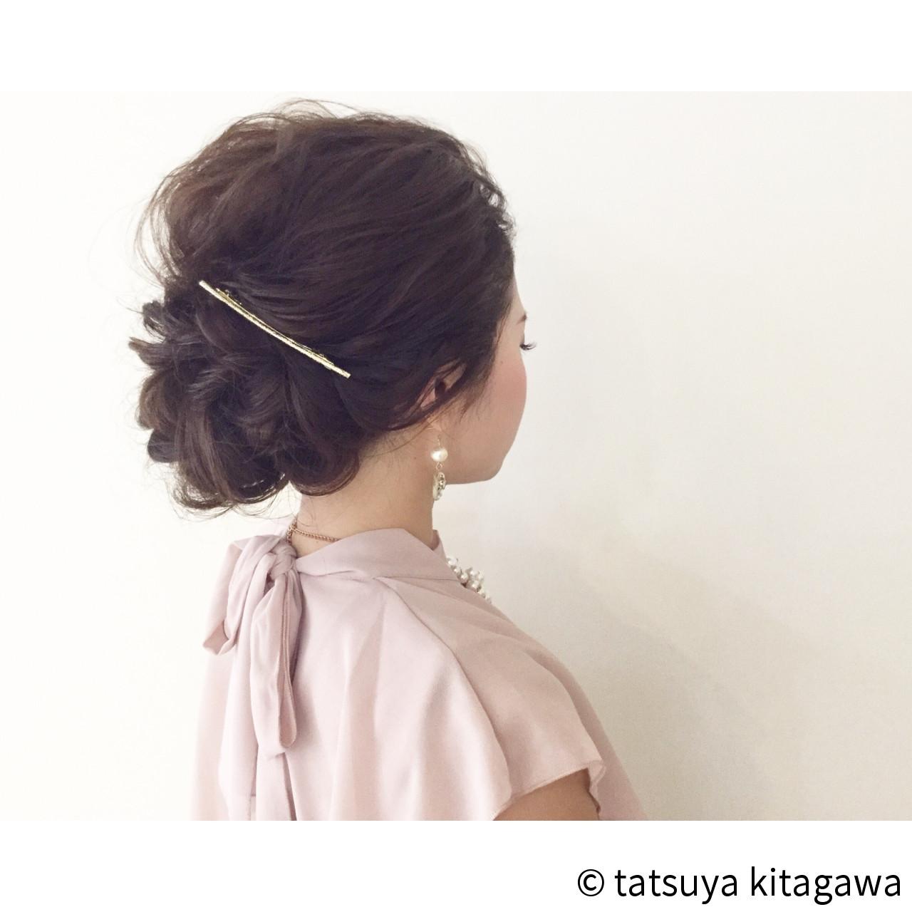 上品 外国人風 ゆるふわ 結婚式 ヘアスタイルや髪型の写真・画像