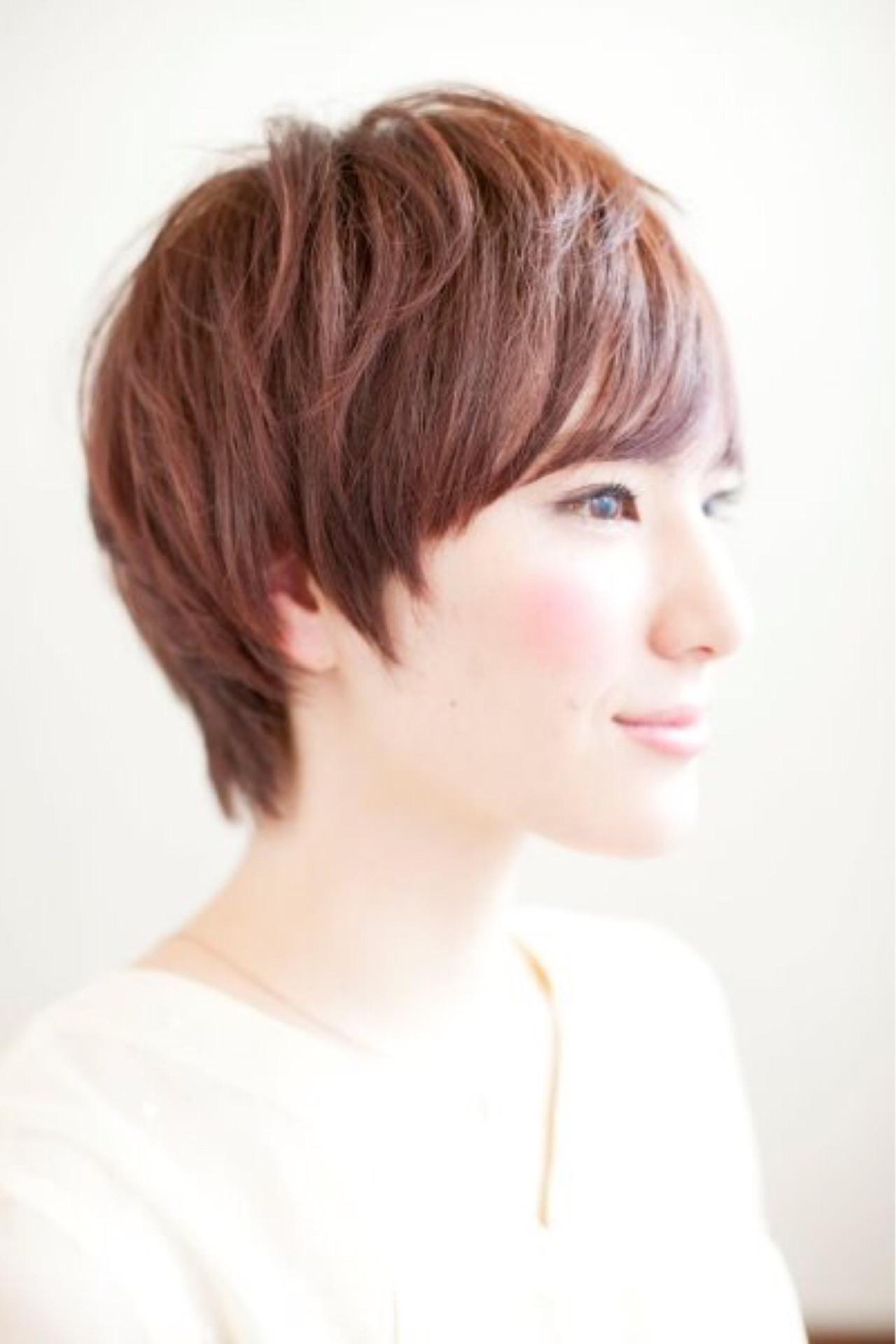 オフィス ヘアアレンジ ナチュラル 外ハネ ヘアスタイルや髪型の写真・画像 | 松下哲史 / Ramie omotesando