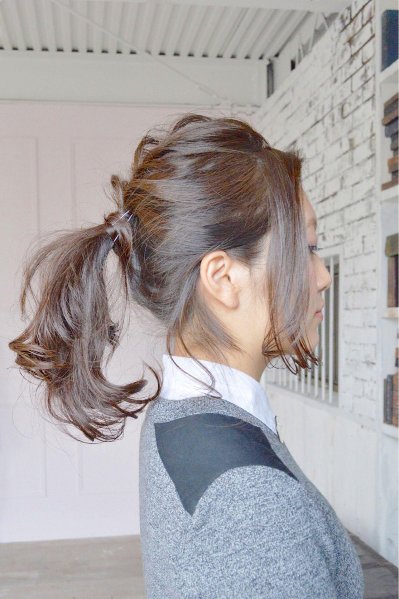 ロングヘアを最大限に活かす。ポニーテール×ヘアアクセで男性ウケ抜群アレンジ  加山 暸汰