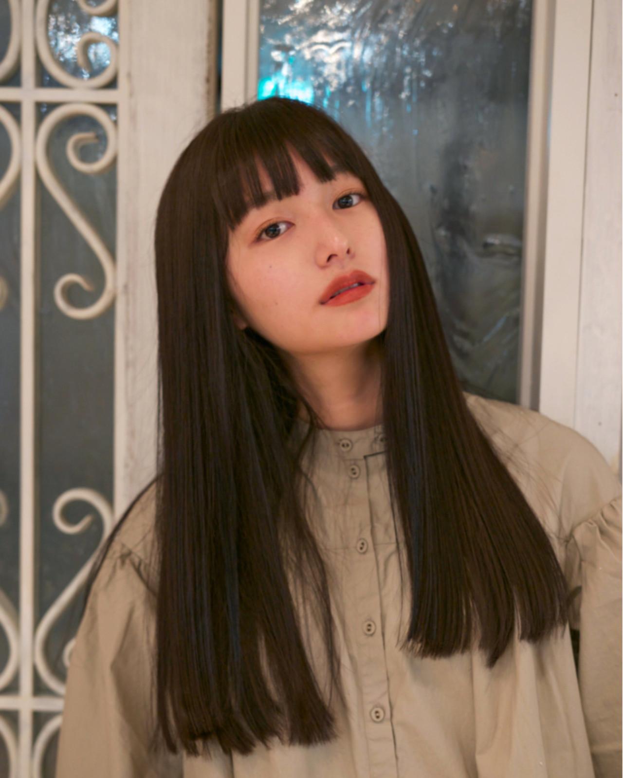 ナチュラル ロング ゆるふわ グレージュ ヘアスタイルや髪型の写真・画像 | 佐脇 正徳 / LOAVE AOYAMA(ローヴ アオヤマ)