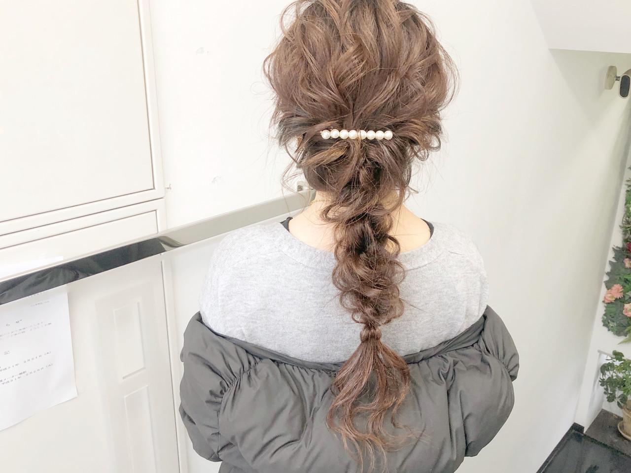デート アンニュイほつれヘア ヘアアレンジ 簡単ヘアアレンジ ヘアスタイルや髪型の写真・画像 | 『ボブ美容師』永田邦彦 表参道 / send by HAIR