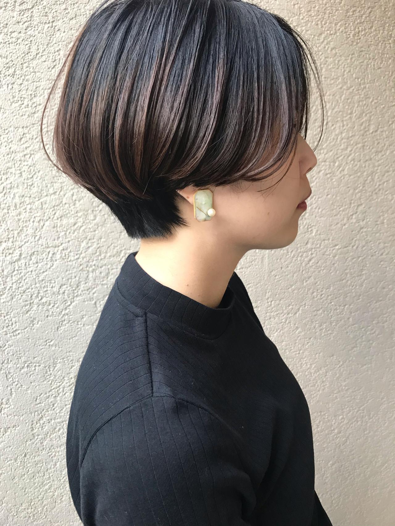 スポーツ デート アウトドア ショートボブ ヘアスタイルや髪型の写真・画像   富永暁子 / SUMMER