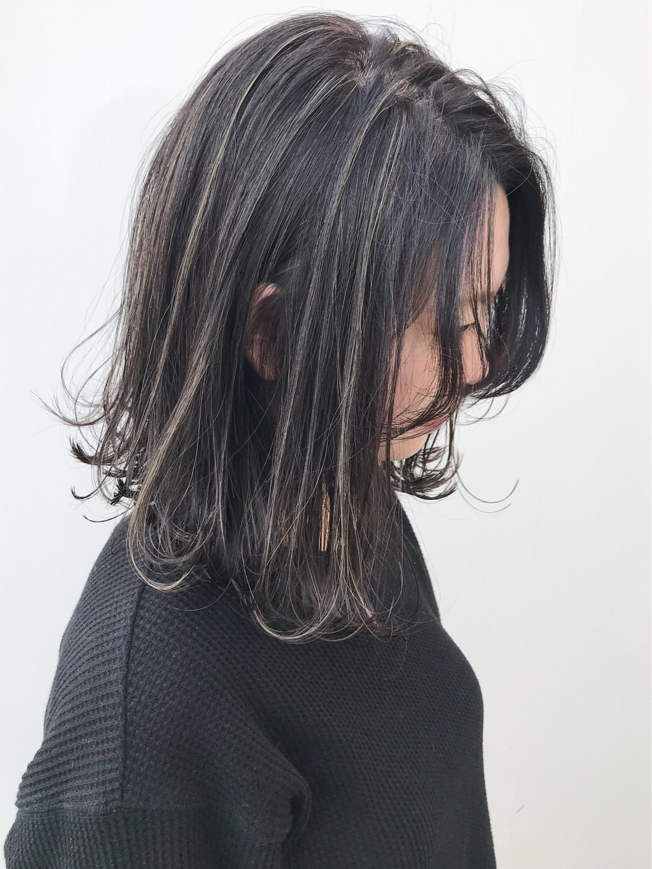 オフィス コンサバ 大人かわいい イルミナカラー ヘアスタイルや髪型の写真・画像