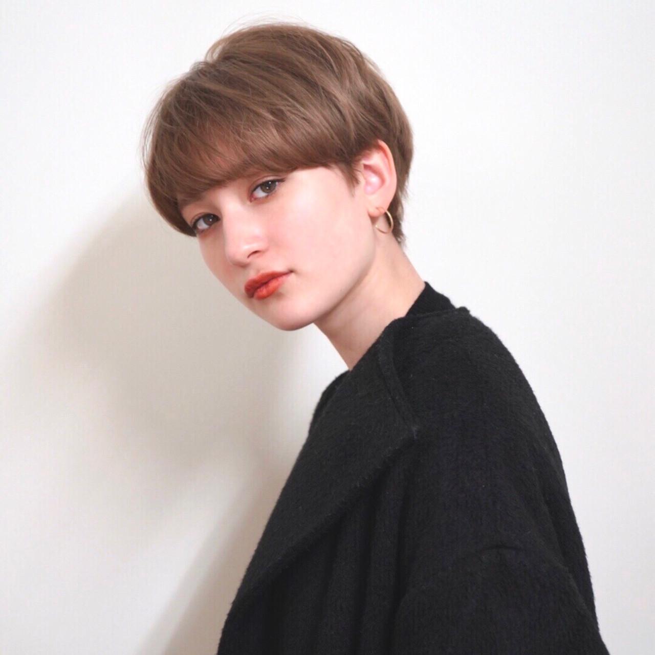 ナチュラル ヘアアレンジ デート アウトドア ヘアスタイルや髪型の写真・画像 | お洒落ショート とかじしょうた GARDEN / NEUTRAL by GARDEN