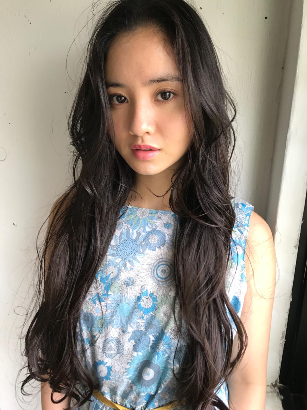 ロング エレガント 上品 女子会 ヘアスタイルや髪型の写真・画像