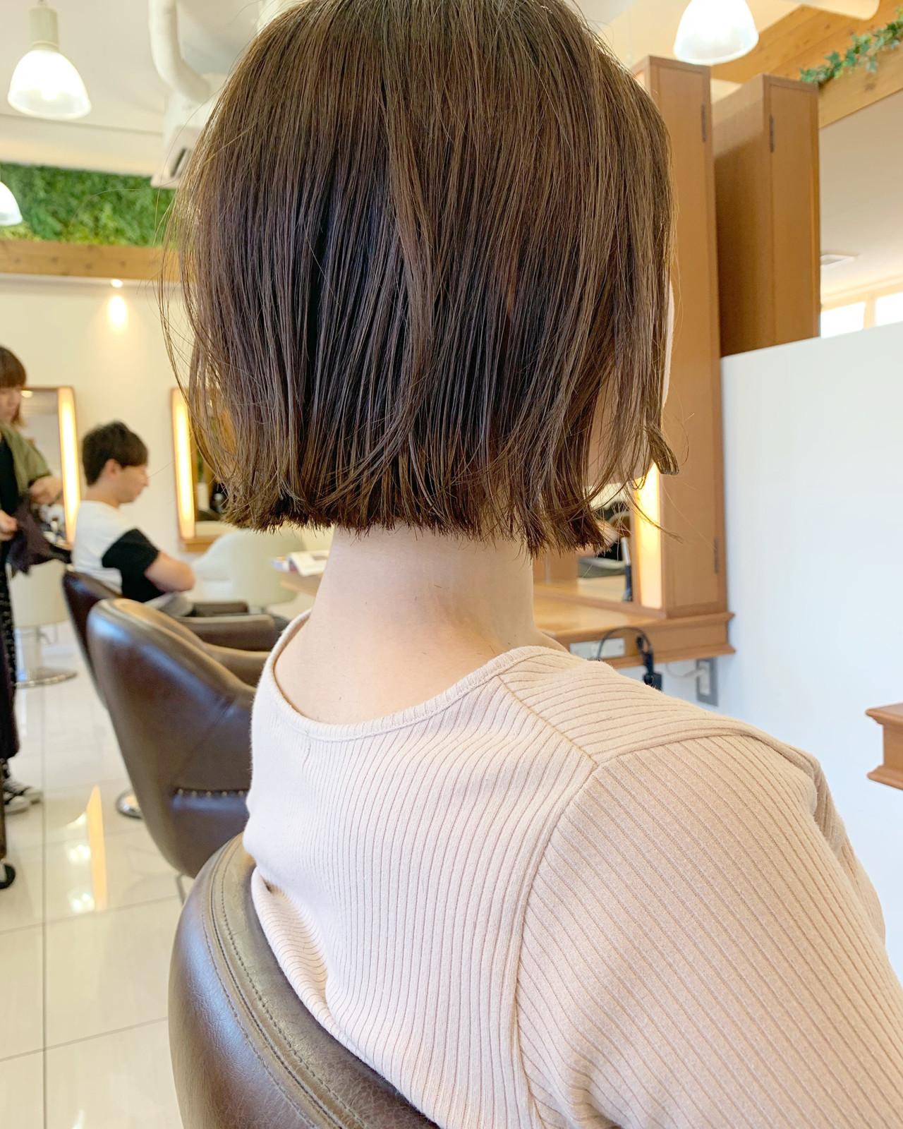 ショート ミニボブ 簡単ヘアアレンジ 大人可愛い ヘアスタイルや髪型の写真・画像