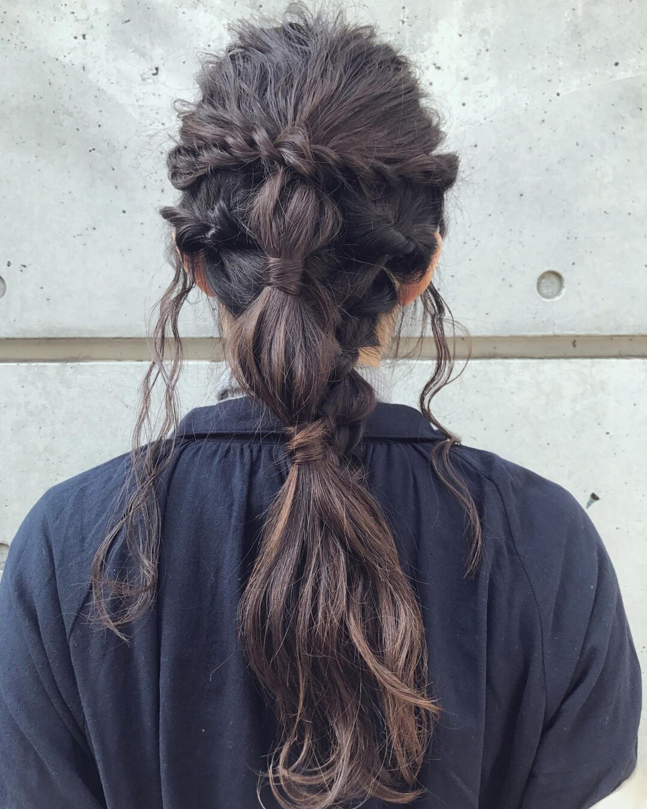 簡単ヘアアレンジ アンニュイほつれヘア 結婚式 成人式 ヘアスタイルや髪型の写真・画像 | おかゆ / tete nico
