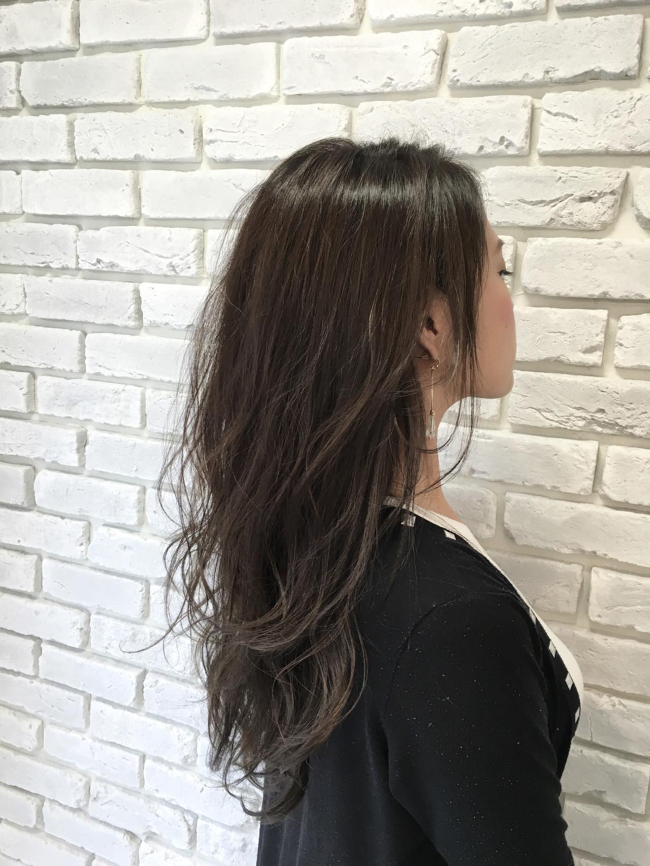 セミロング 外国人風 ストリート グレージュ ヘアスタイルや髪型の写真・画像 | 田中晋也 / prize(プライズ)表参道店