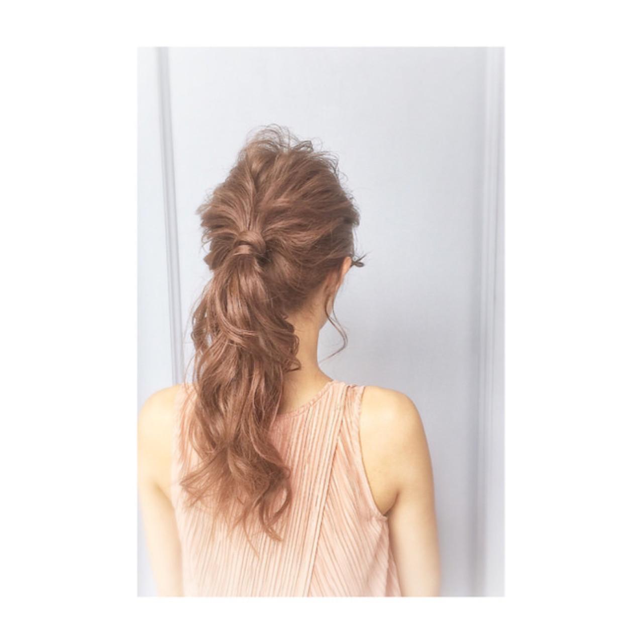 外国人風 簡単ヘアアレンジ ヘアアレンジ 大人かわいい ヘアスタイルや髪型の写真・画像 | teddy / grauge hair