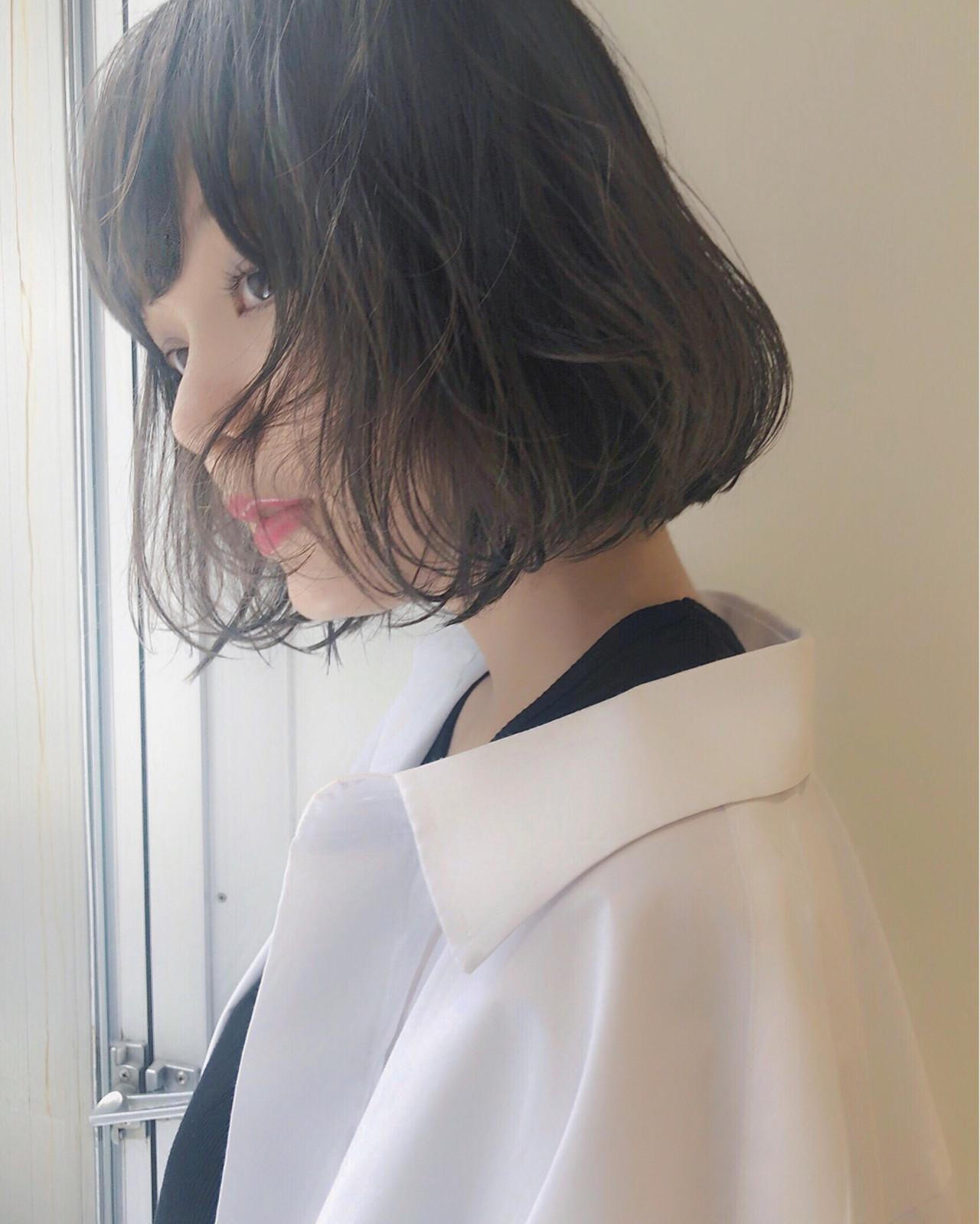 ボブ フェミニン エフォートレス ナチュラル ヘアスタイルや髪型の写真・画像 | LIPPS 銀座 かずや / LIPPS 銀座