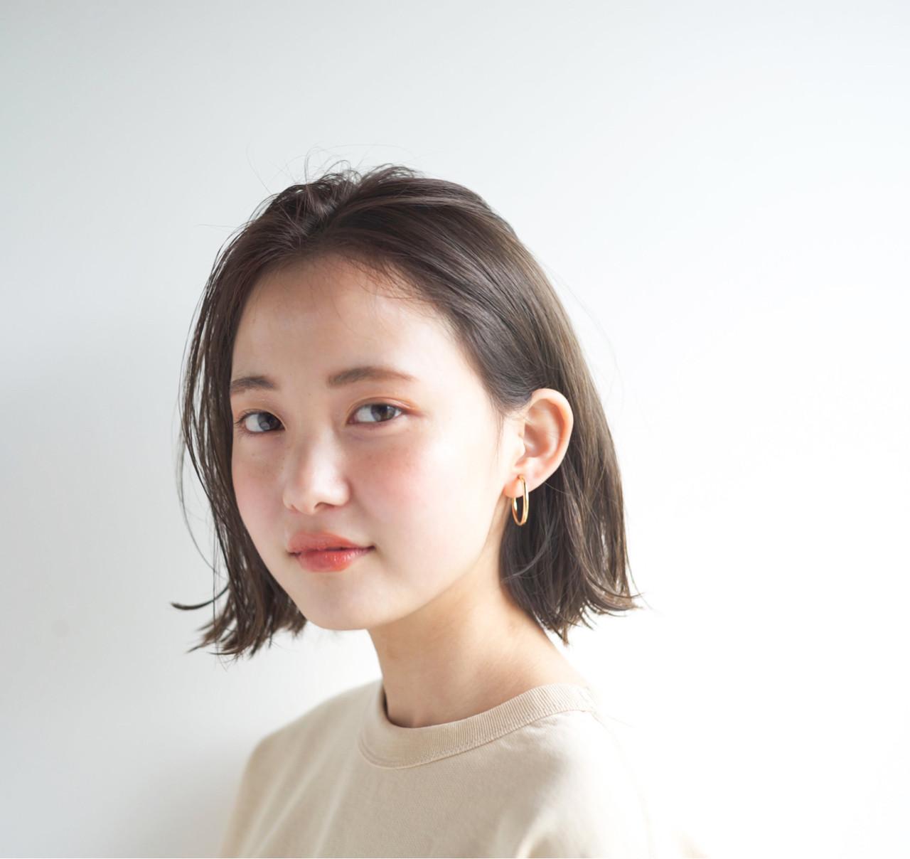 ナチュラル ショート 外国人風カラー アンニュイ ヘアスタイルや髪型の写真・画像