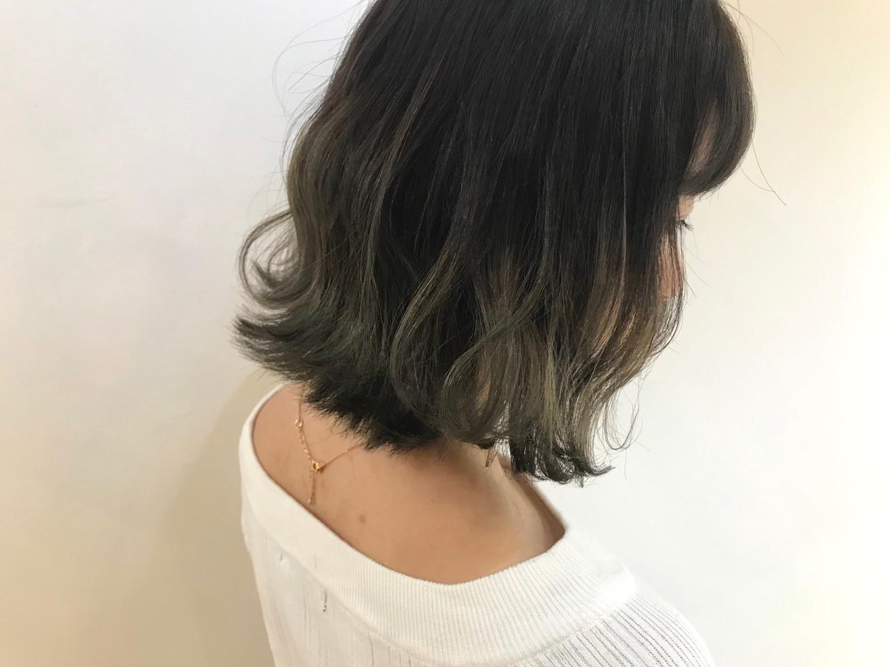黒髪 アンニュイほつれヘア 透明感カラー デート ヘアスタイルや髪型の写真・画像