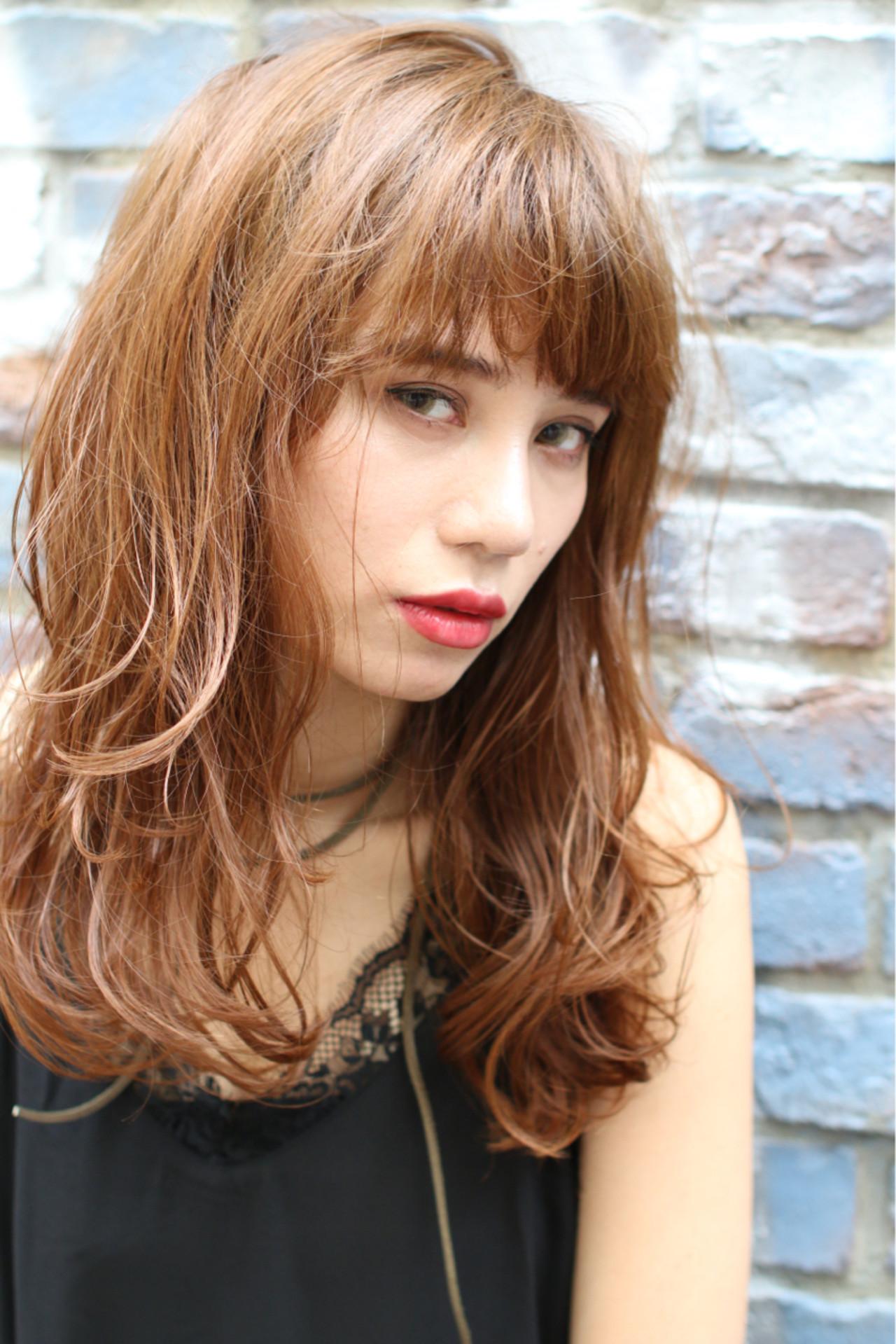 ハイライト パーマ ゆるふわ ストリート ヘアスタイルや髪型の写真・画像   太賀雄己 / FROH  (フロウ)