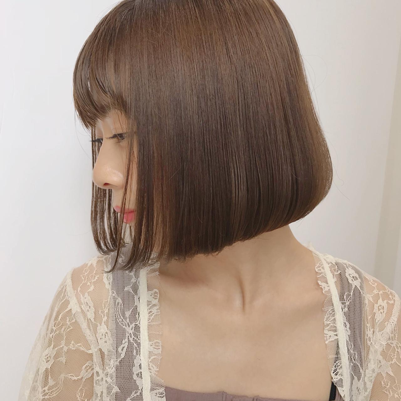 デート 透明感 愛され ミルクティー ヘアスタイルや髪型の写真・画像 | 矢野佑太郎 / GARDEN harajuku