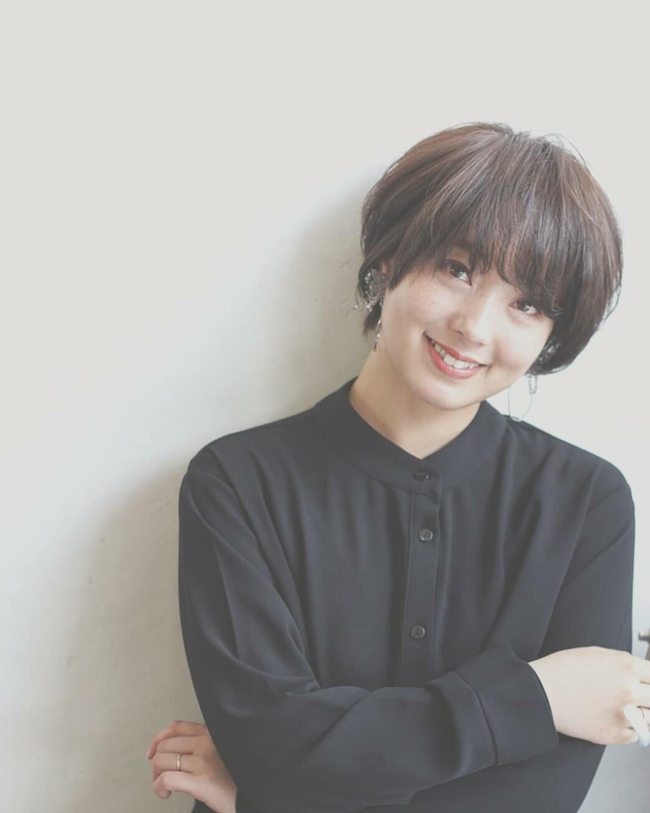 大人女子 大人かわいい ストレート 暗髪 ヘアスタイルや髪型の写真・画像   asuka /