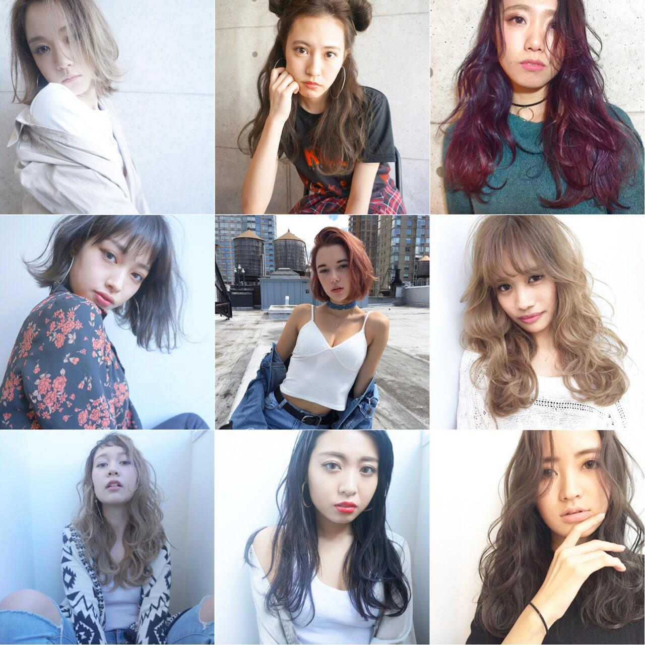 グレージュ 外国人風 アッシュ ストリート ヘアスタイルや髪型の写真・画像