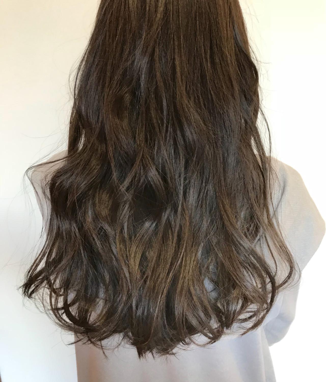デート ガーリー 外国人風 ロング ヘアスタイルや髪型の写真・画像