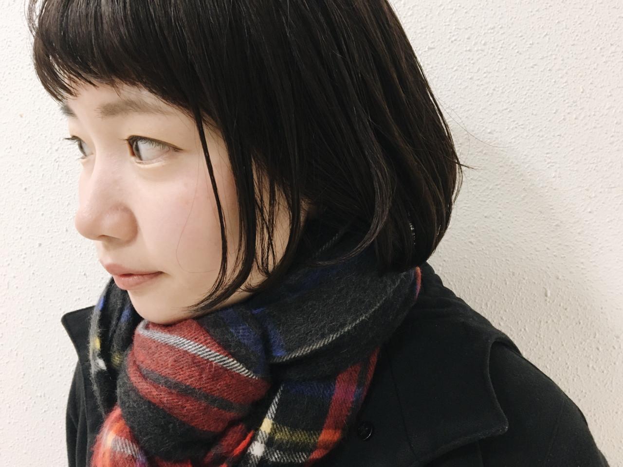 グレー ダークアッシュ ショートボブ ショート ヘアスタイルや髪型の写真・画像 | 長 賢太郎 / ky-go