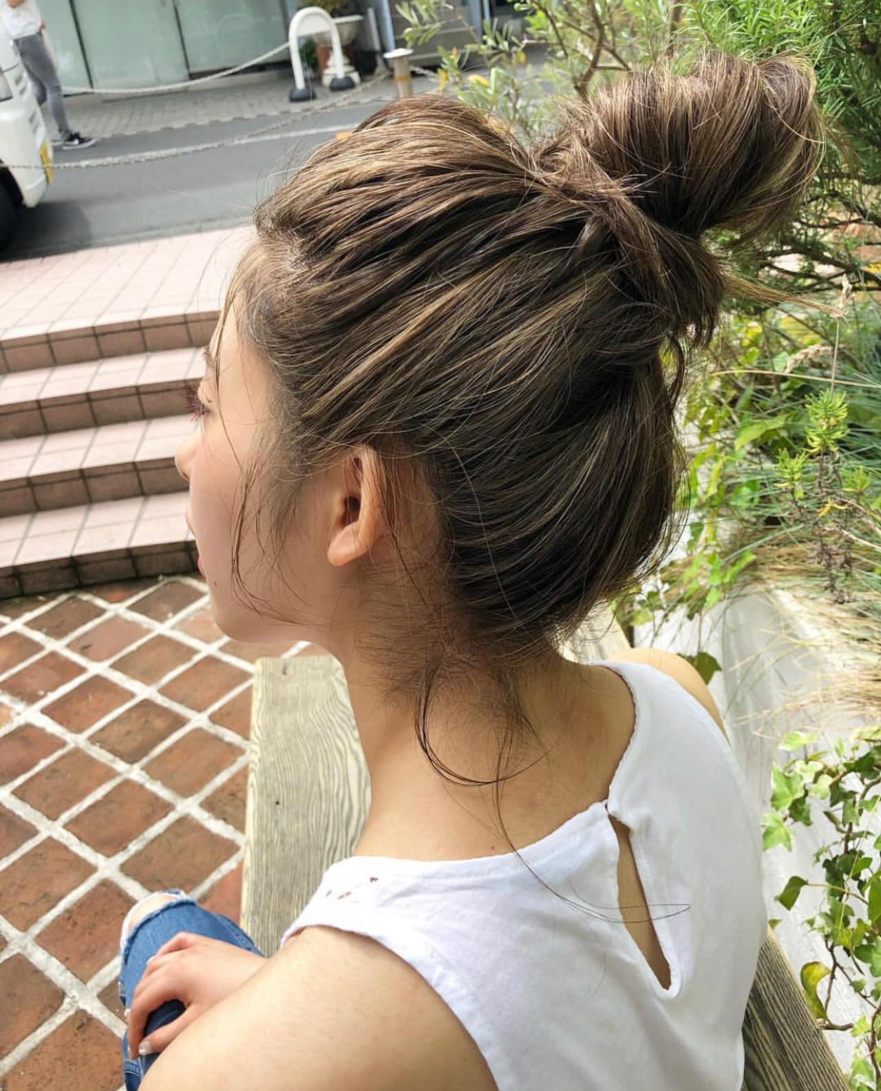簡単ヘアアレンジ ヘアアレンジ コンサバ デート ヘアスタイルや髪型の写真・画像 | 宇野智祐 / Lano