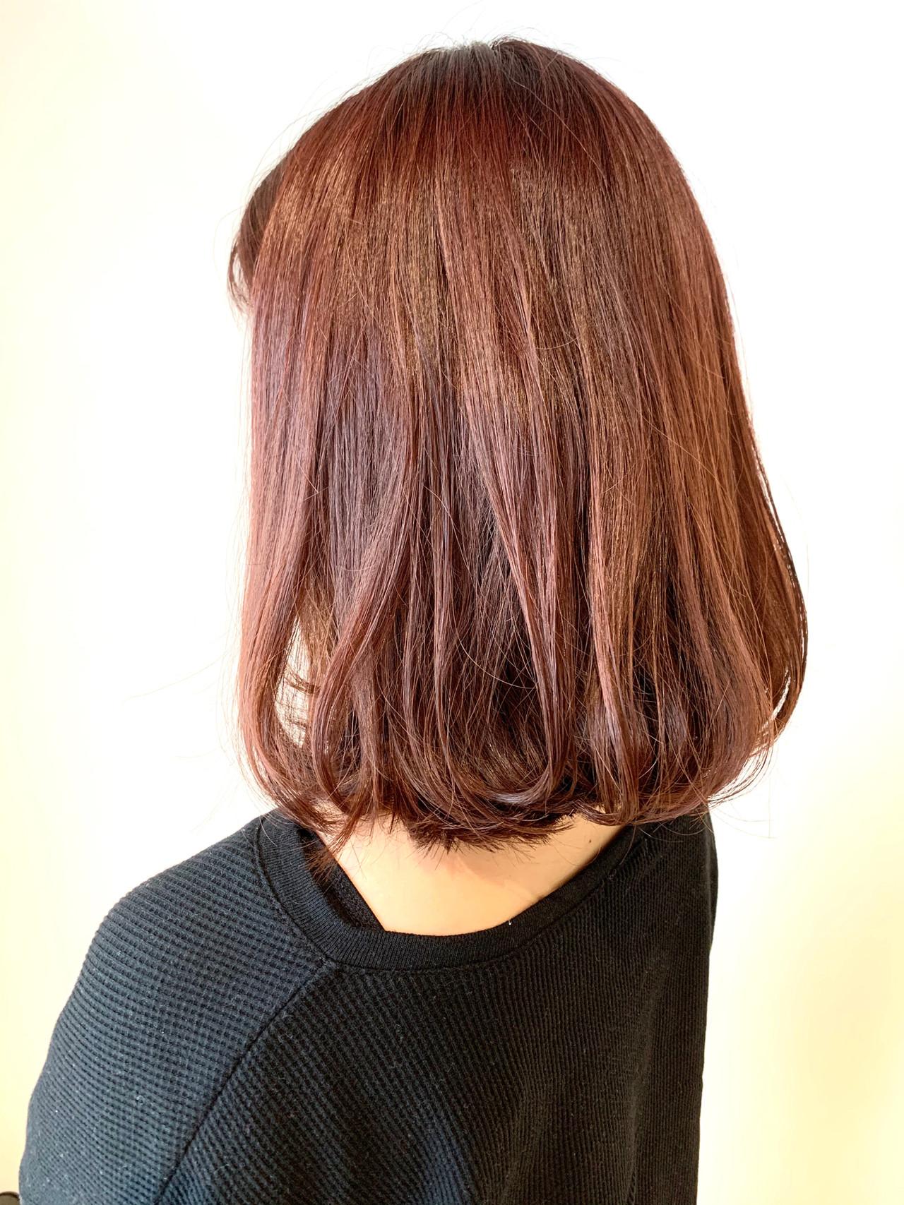 ボブ ガーリー 簡単スタイリング ゆるふわ ヘアスタイルや髪型の写真・画像 | 村上 駿 / FRAMES hair design