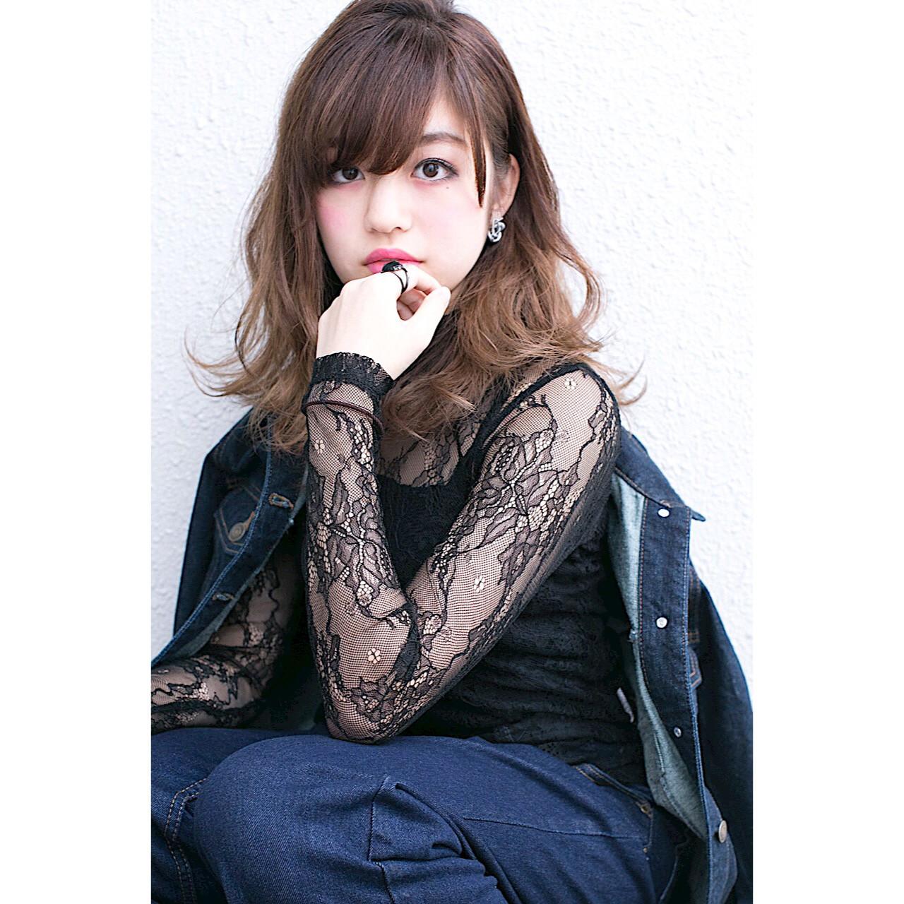 ストリート 外国人風 ハイライト アッシュ ヘアスタイルや髪型の写真・画像 | 廣長 毅 / Lull/ vampdiva