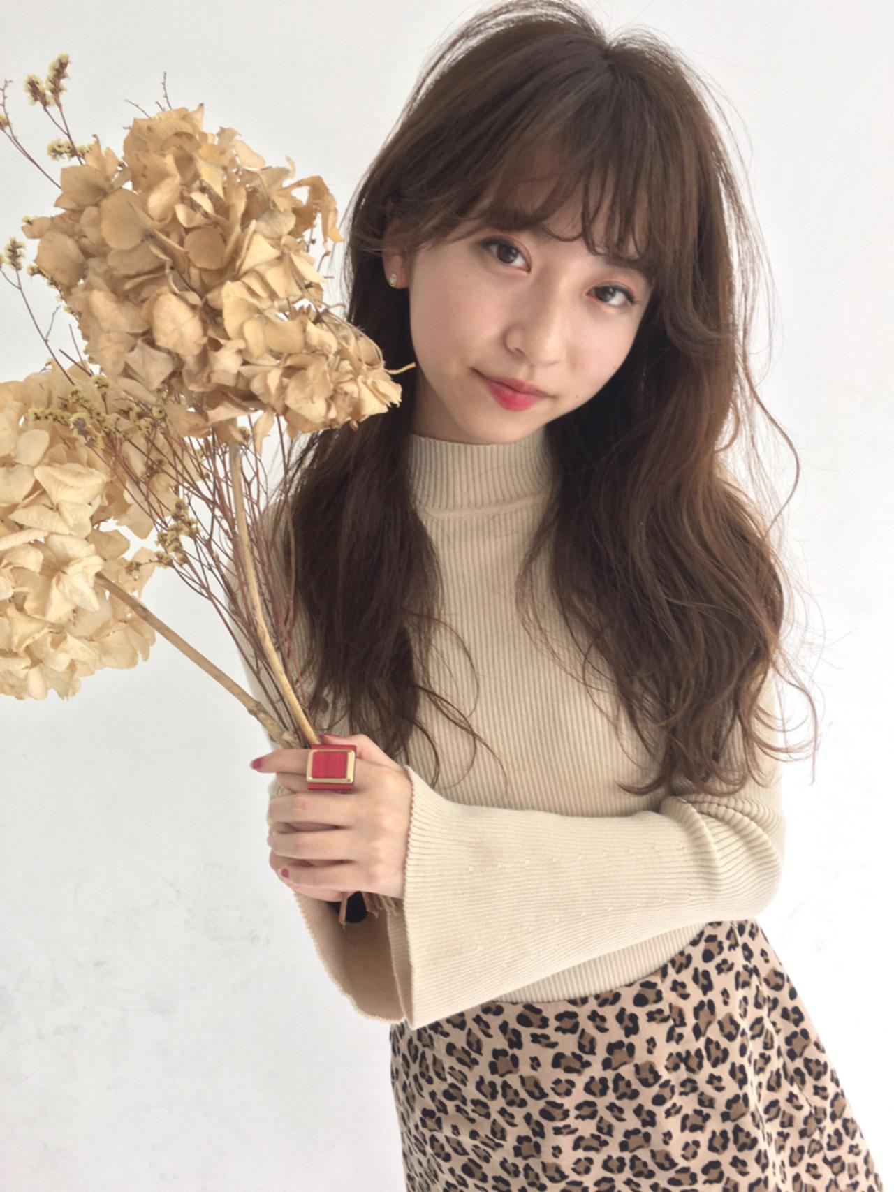 女子力 秋 フェミニン ウェーブ ヘアスタイルや髪型の写真・画像 | 舩木 宏哉 / first泉中央