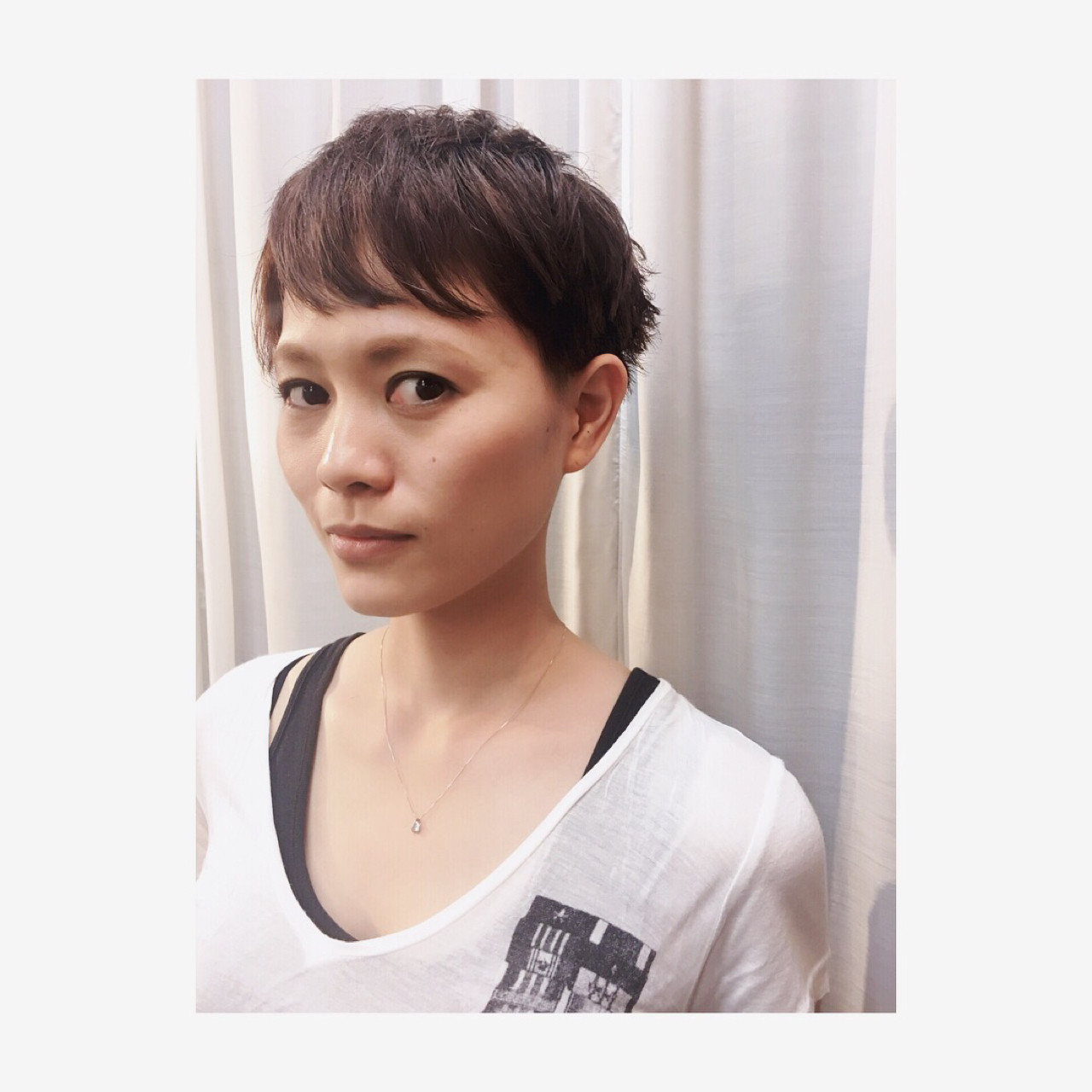 ショート こなれ感 モード 大人女子 ヘアスタイルや髪型の写真・画像 | AZUSA / lil hair