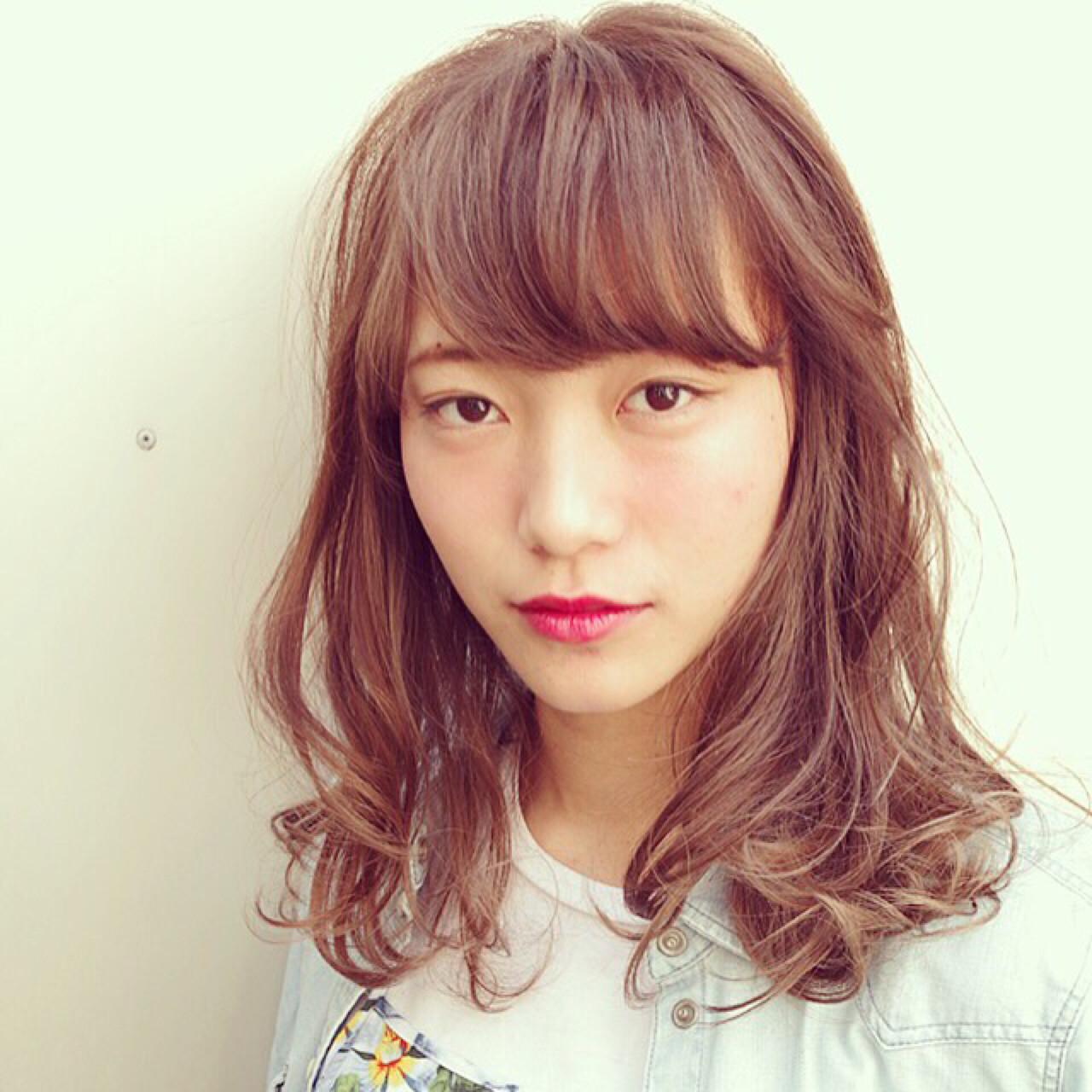 小顔に見せる効果抜群。自然でキュートな印象を生み出す魔法の前髪♡ Nao Kokubun blast