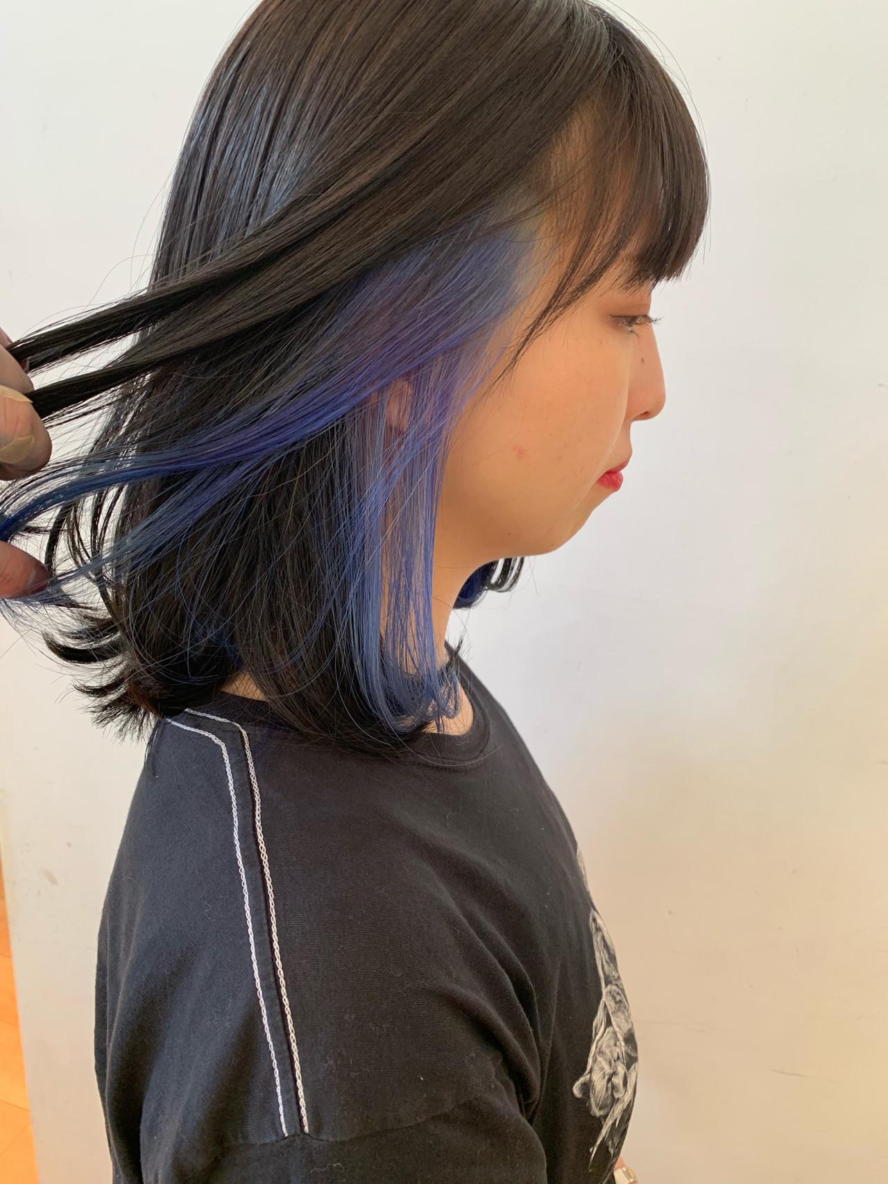 ハイトーン ハイトーンボブ ストリート 簡単ヘアアレンジ ヘアスタイルや髪型の写真・画像