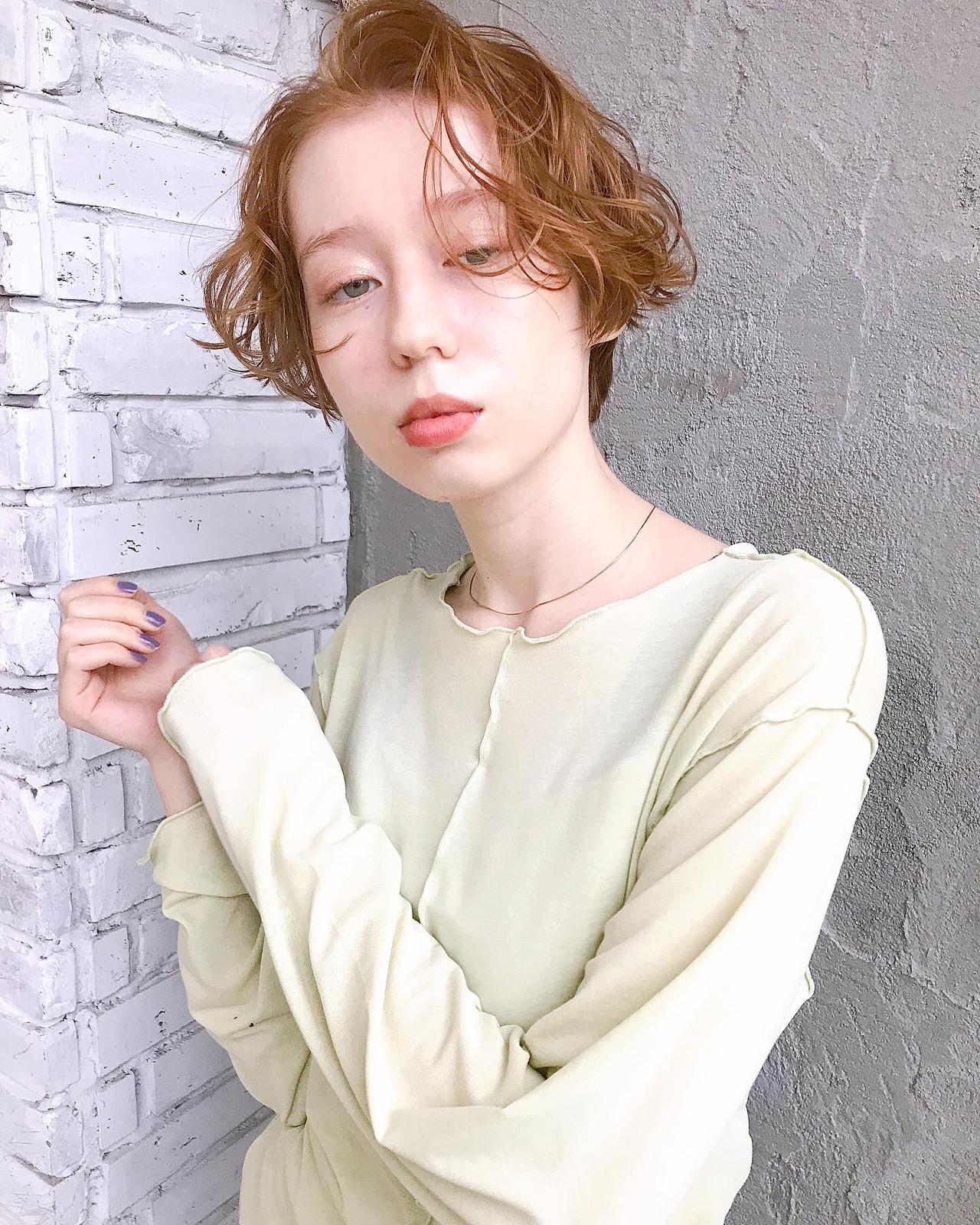 似合わせカット ナチュラル ショート ショートヘア ヘアスタイルや髪型の写真・画像 | オカダアサミ / KILLA