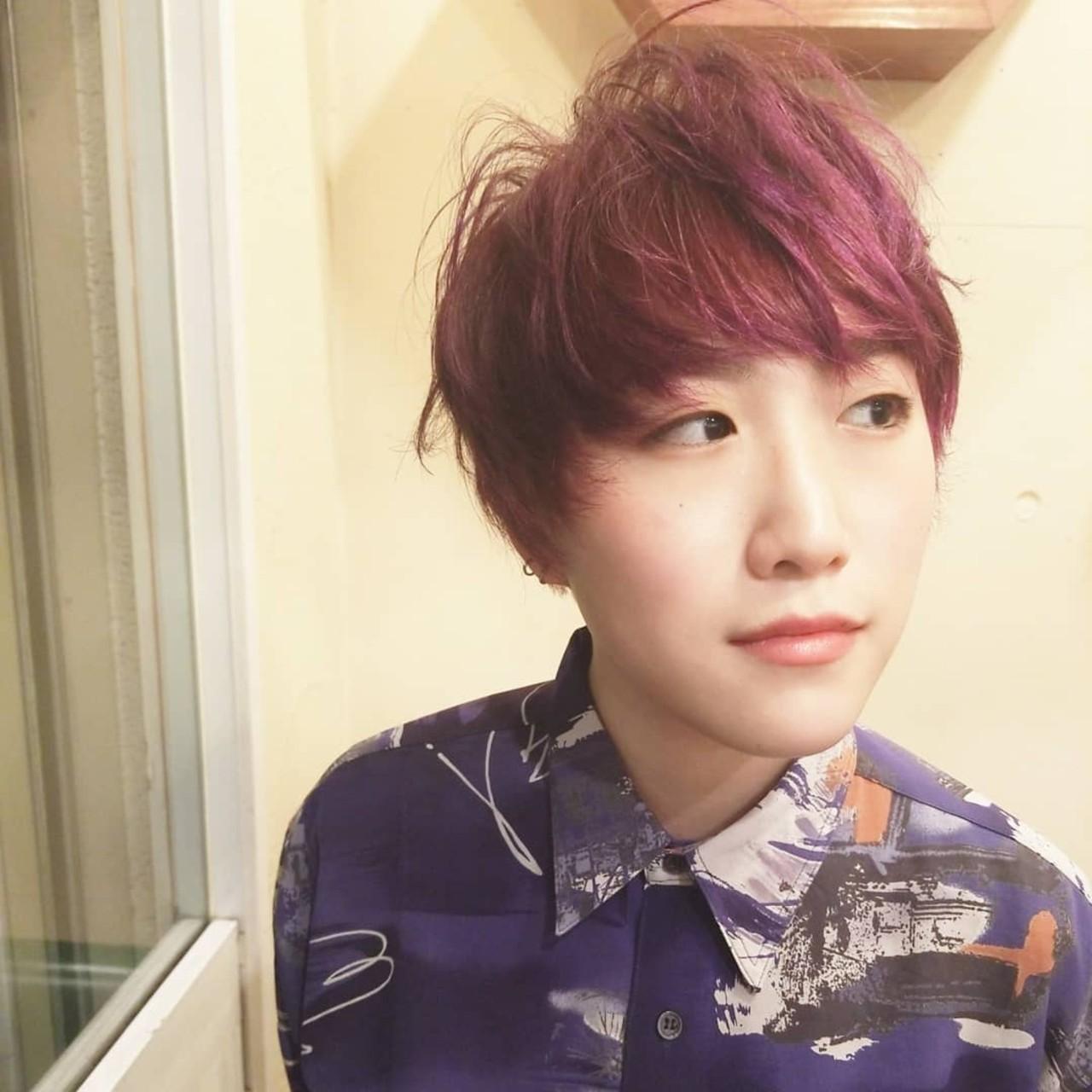 ツーブロック N.オイル ウェットヘア ダブルカラー ヘアスタイルや髪型の写真・画像 | 北村 雄吾 / piece