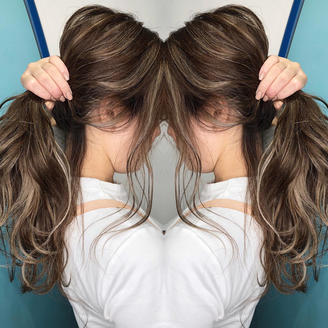外国人風カラー グラデーションカラー ナチュラル ハイライト ヘアスタイルや髪型の写真・画像 | 岩原 基典 / 心斎橋 laurel