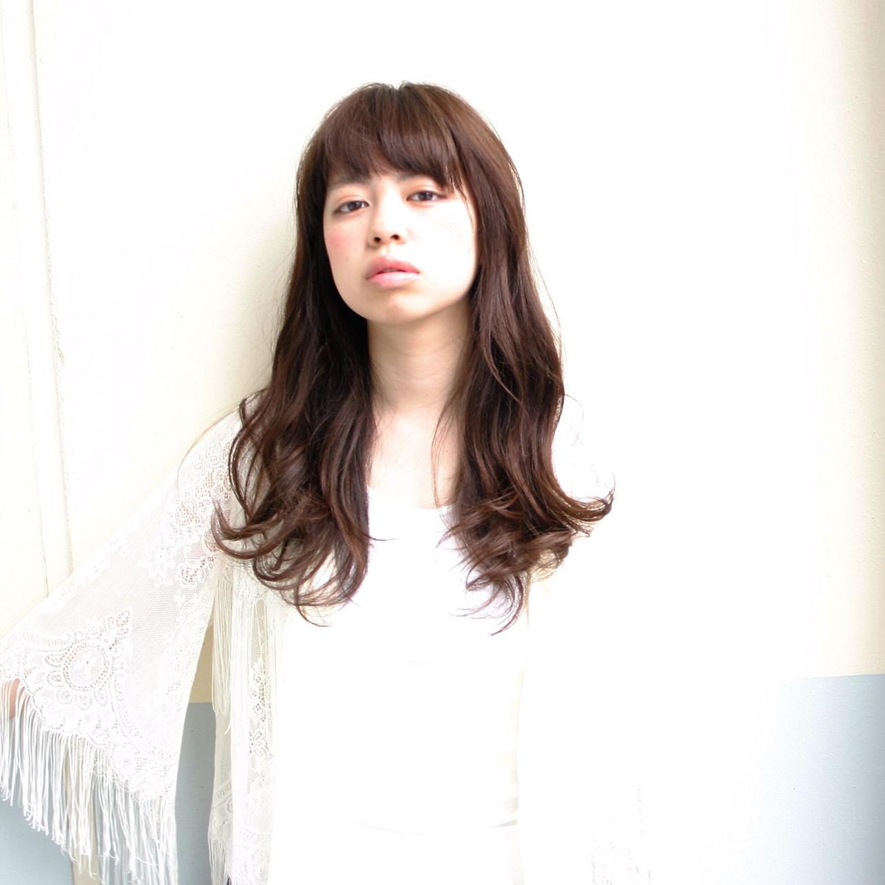 ブラウン アッシュ ナチュラル 大人かわいい ヘアスタイルや髪型の写真・画像 | 藤川 和也 / bico harajuku/札幌駅前店