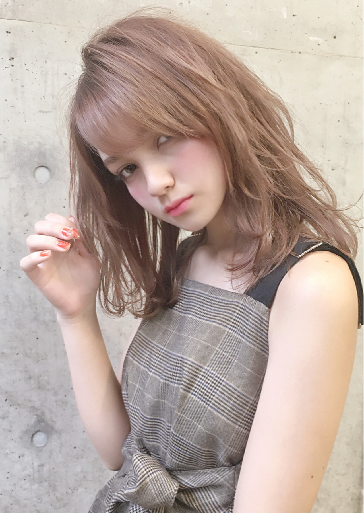 デート コンサバ モテ髪 ゆるふわ ヘアスタイルや髪型の写真・画像