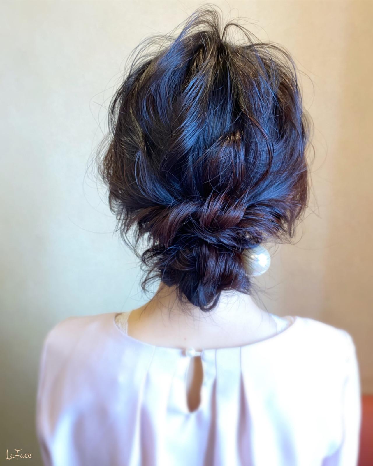 ロング 結婚式 エレガント ヘアアレンジ ヘアスタイルや髪型の写真・画像