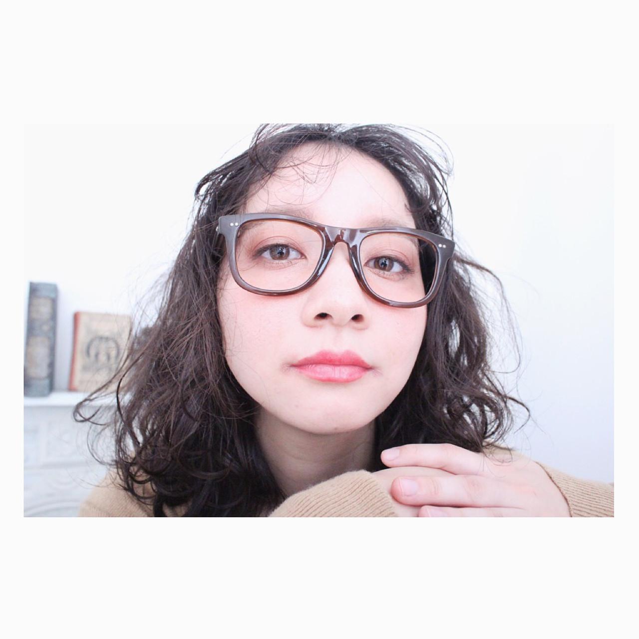 前髪あり ナチュラル パーマ 外国人風 ヘアスタイルや髪型の写真・画像 | 上田智久 / ooit 福岡 天神 / ooit
