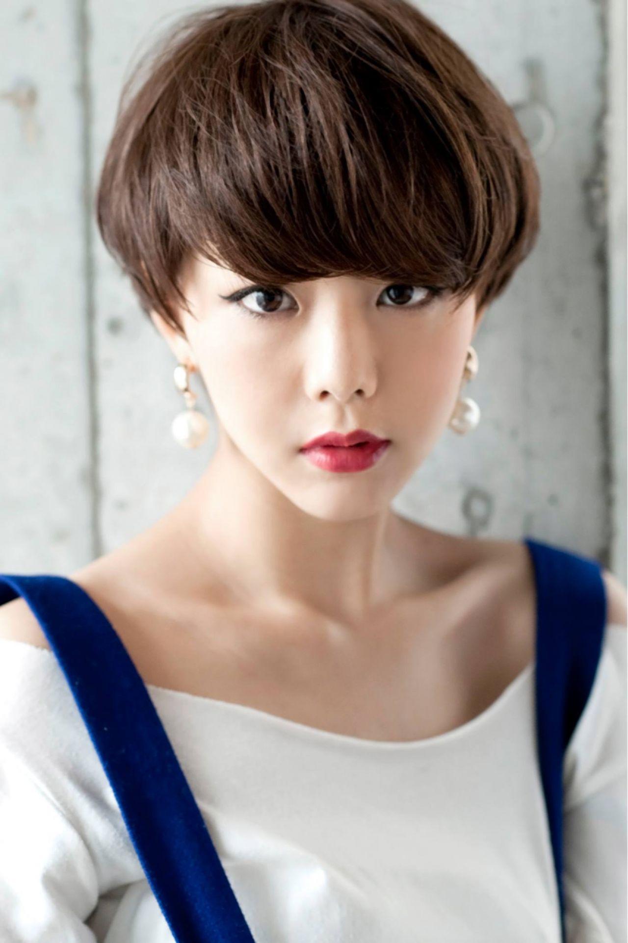 小顔に見せる効果抜群。自然でキュートな印象を生み出す魔法の前髪♡ 田中 衛 /代表