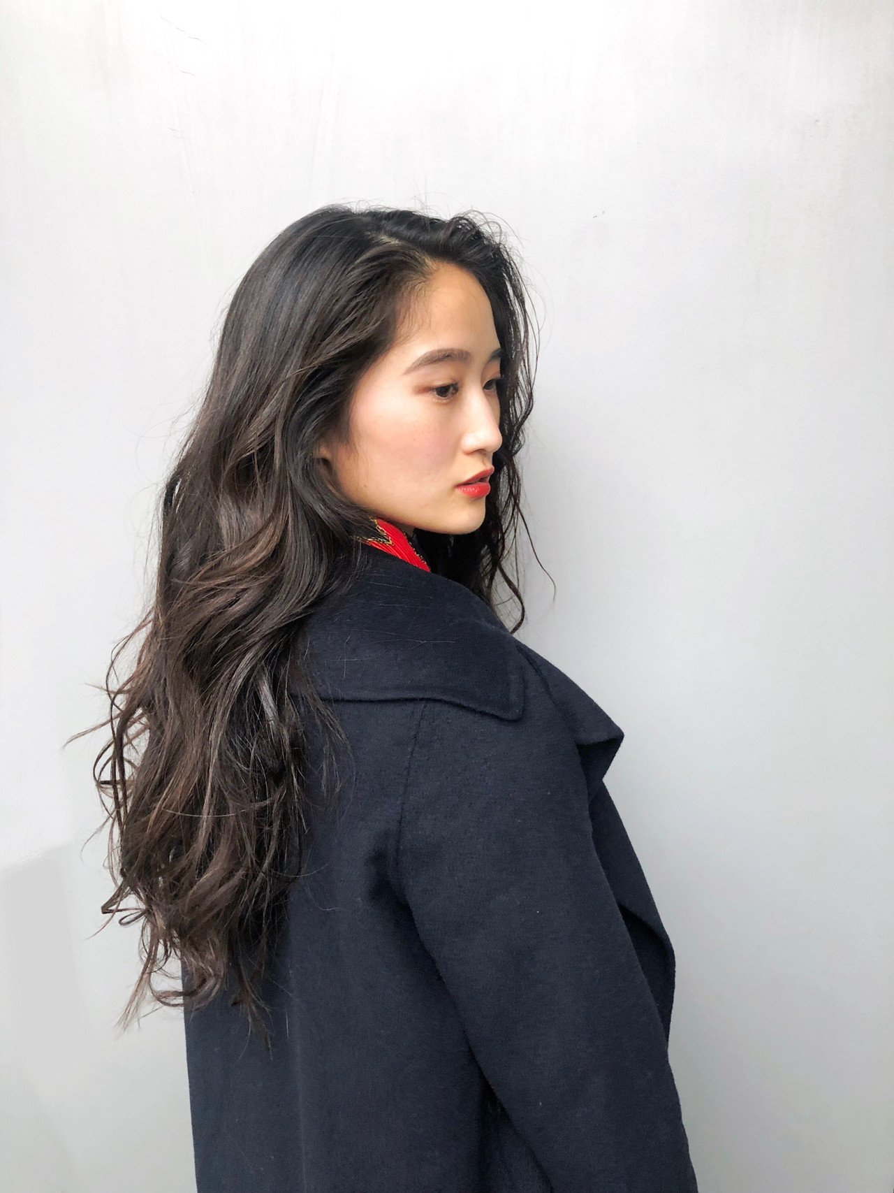 アンニュイほつれヘア デート 大人かわいい ロング ヘアスタイルや髪型の写真・画像